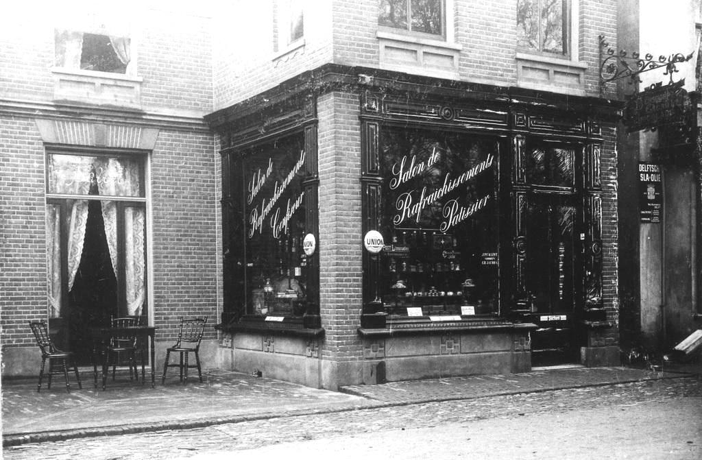 Salon de rafraichissements en patissier J. F. Klint