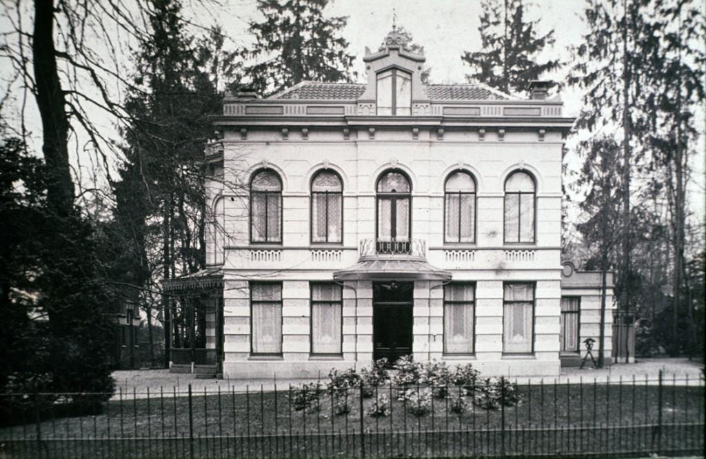 """De villa """"Westerpark""""."""