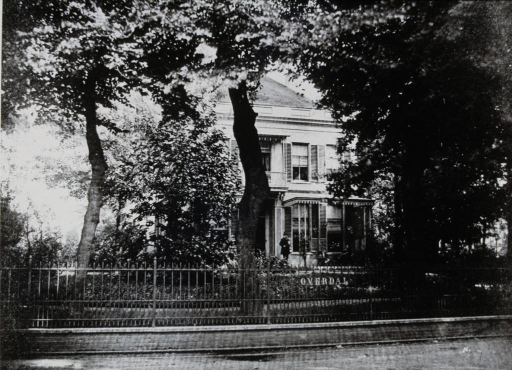 De villa Overdal die moest wijken voor het gelijknamige verzorgingstehuis.
