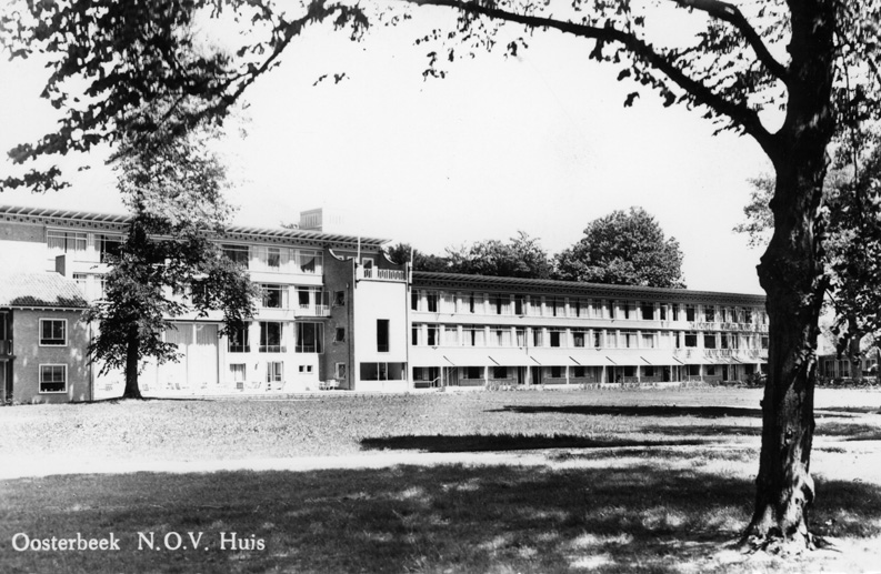 Het NOV tehuis in de jaren '60.