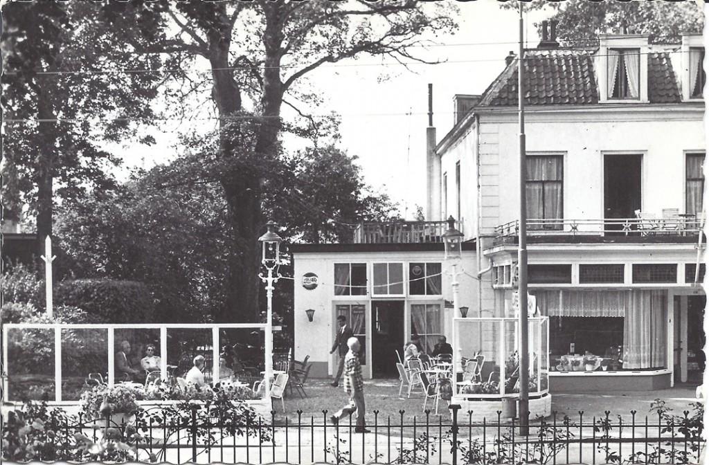 """Het cafee- restaurant """"de Olde Spinde""""."""