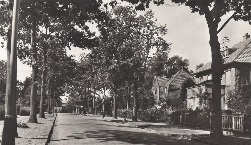 De Julianaweg in de jaren `50.
