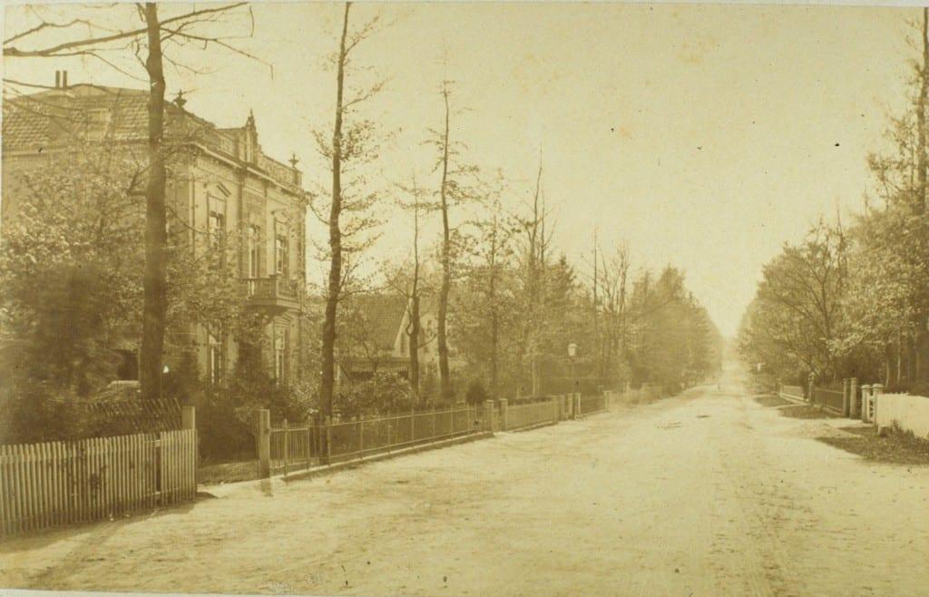 "Villa ""Carina"" kort na de bouw in 1880."