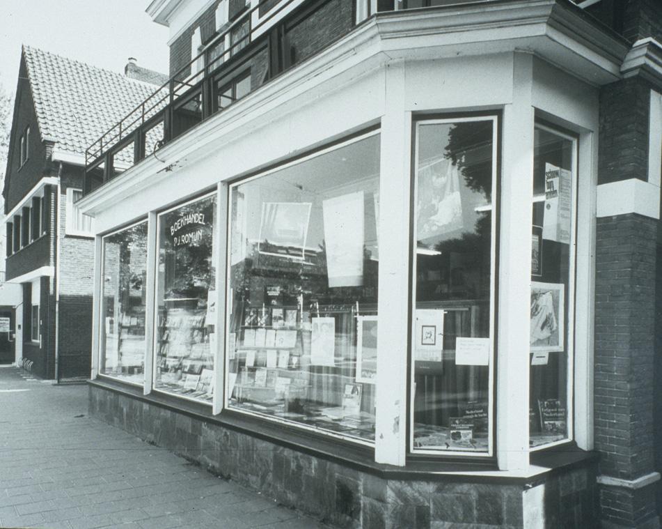 De winkel van Pieter Romijn later Scholten aan de Utrechtseweg.