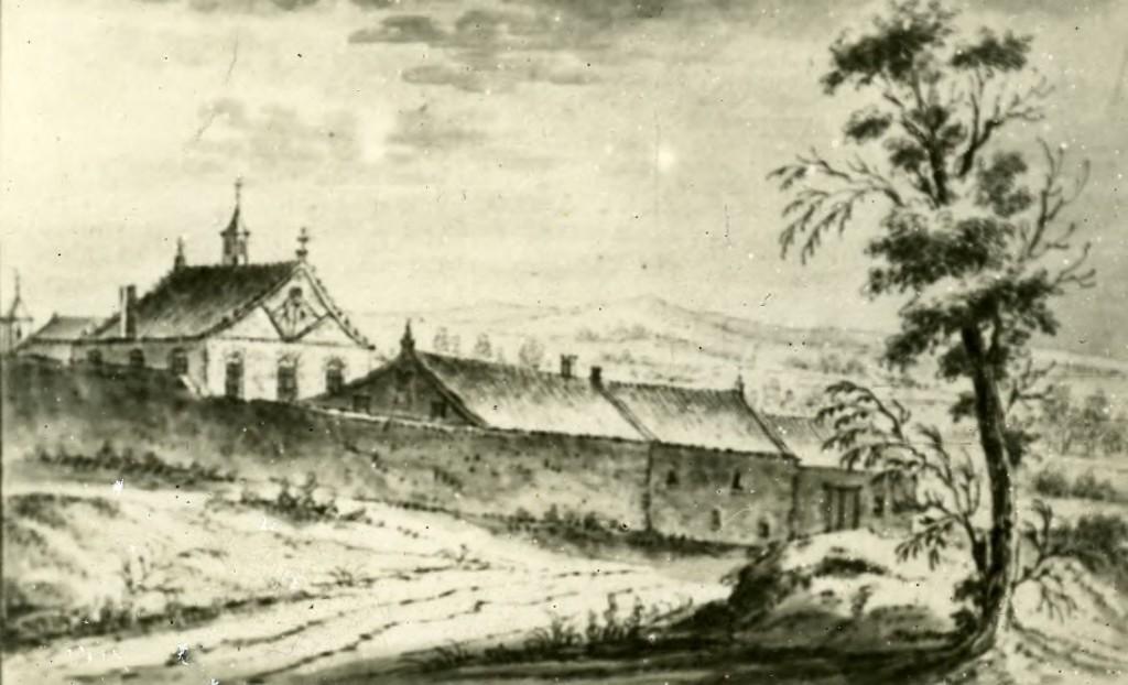 Het klooster van Mariëndaal.