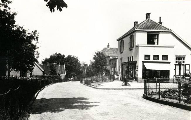 Steynweg op de hoek van de Joubertweg.