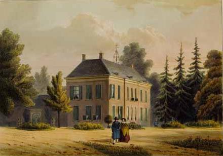 Het door Derk Gaymans gebouwde tweede huis Hemelse Berg, het huis waarin Van der Aa woonde.
