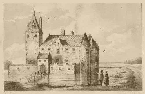 Historisch_Gebouw_Slot_Grunsfoort_Voorgevel