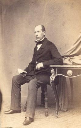 Jan Kneppelhout rond 1865, foto collectie Historisch Documentatiecentrum Renkum