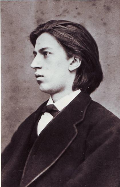 Jan de Graan op 18 jarige leeftijd Foto: Letterkundig Museum