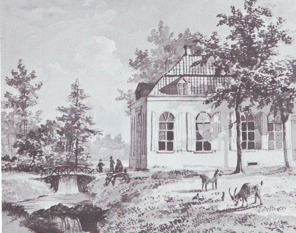Het door Kallenberg van den Bosch gebouwde eerste kostschool het Hemeldal. Na aankoop van het landgoed de Hemelse berg door Kneppelhout sterk vergroot.