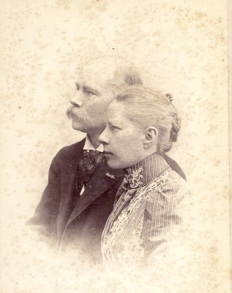 Het echtpaar Van Marken- Matthes