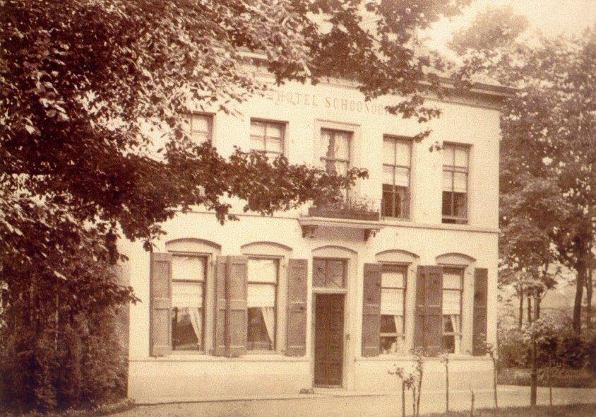"""Hotel """"Schoonoord"""" na de verbouw door de firma Wolterbeek"""