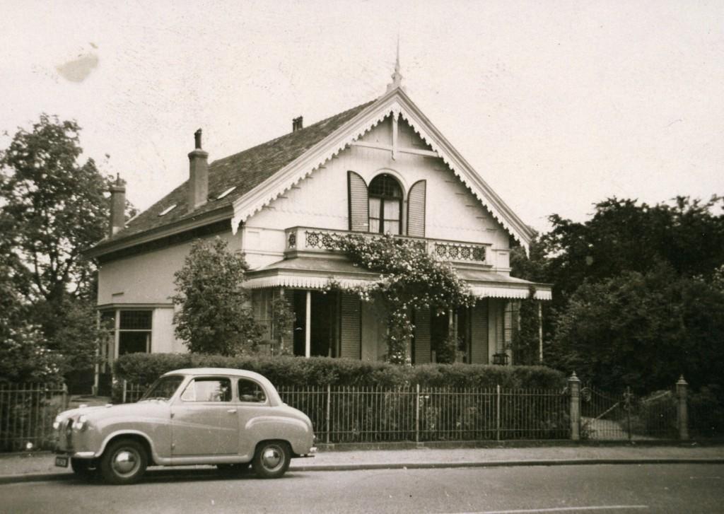 Het als tuinmanswoning bekend staande huisop nummer 163