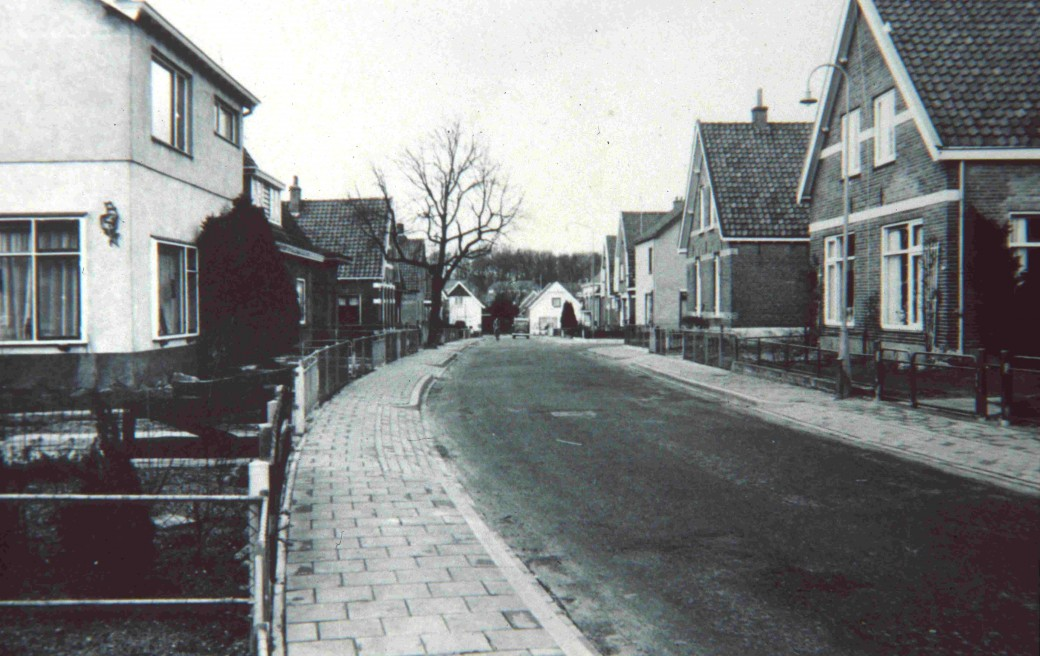 De Joubertweg rond 1970.