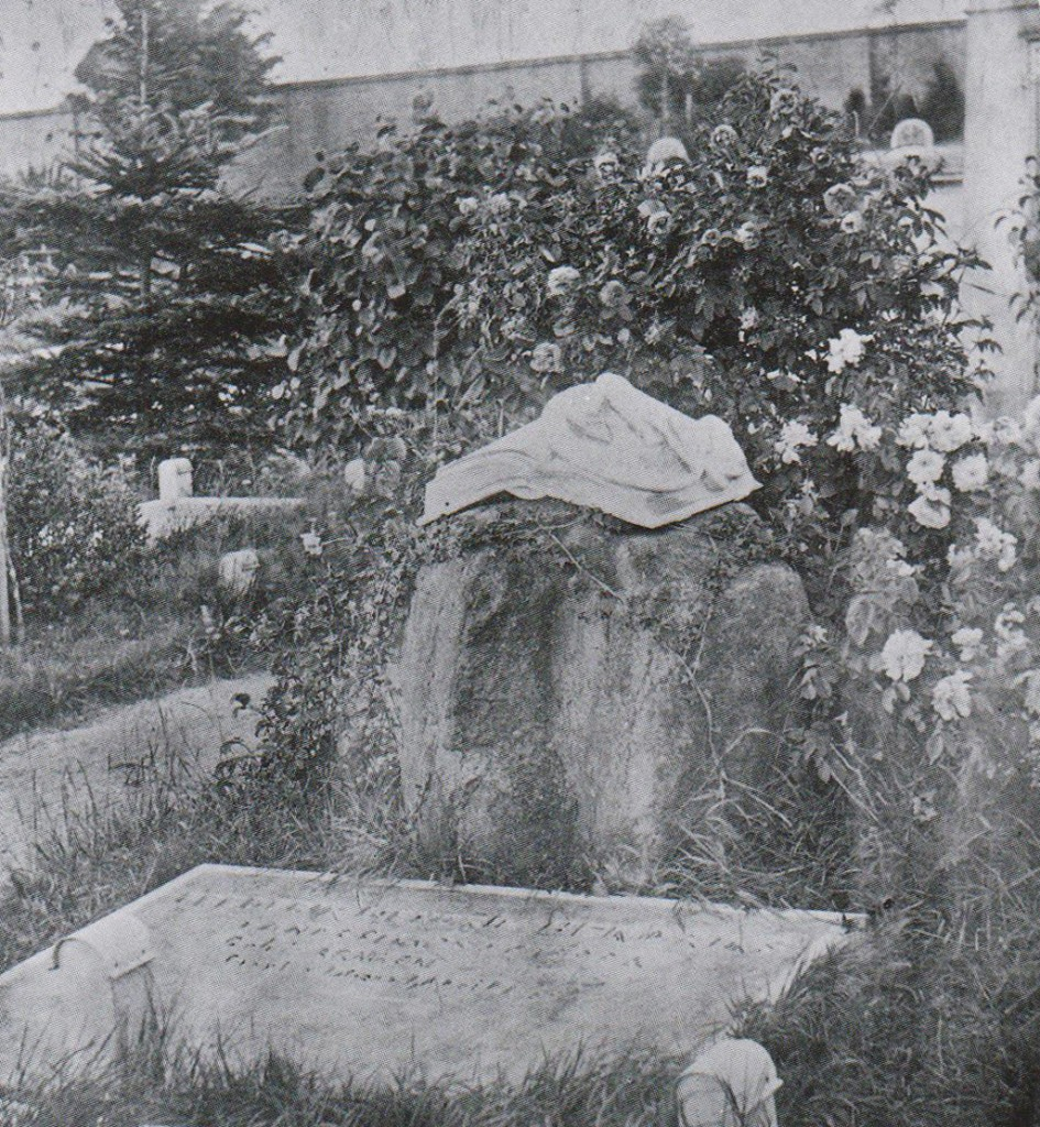 het graf van Hendriks op de begraafplaats Onder de Linden te Arnhem.