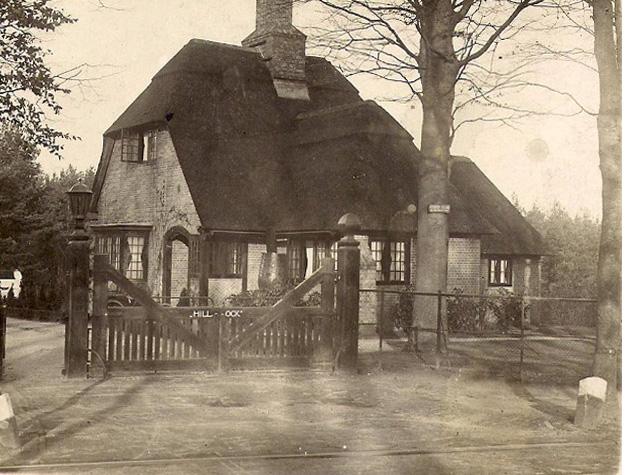 Het oudste deel van de portierswoning, gelegen op Utrechtseweg 293/293 A.