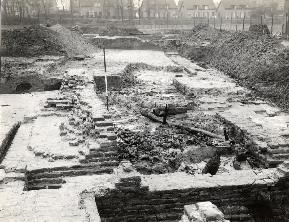 opgraving huis Grunsfoort Renkum