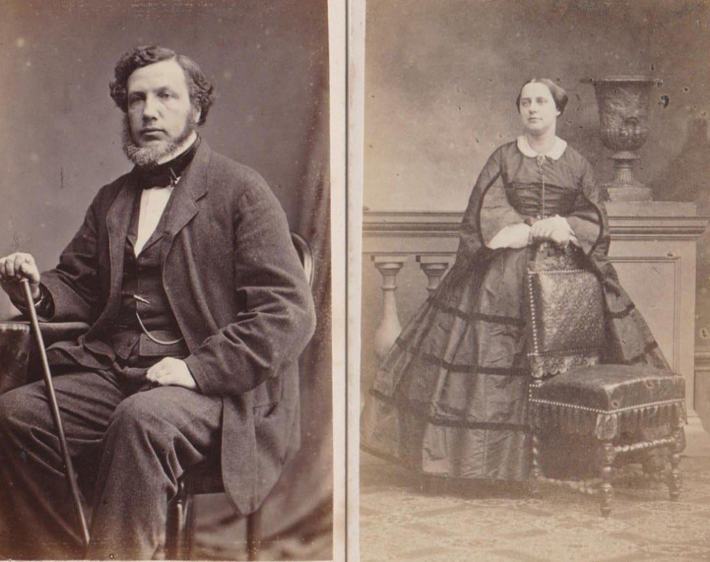 Julius Hendrik Tutein Nolthenius en Elisabeth Weymar