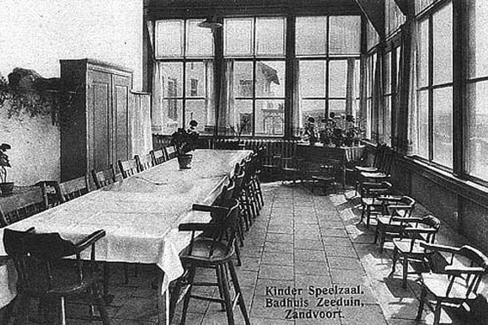 Het pension voor vrouwen en kinderen van mejuffrouw M. A. Wolterbeek Villa Maris