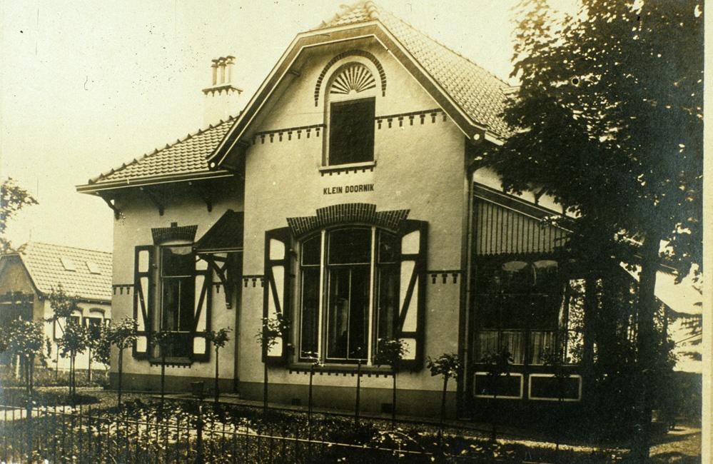 """Huis """"Klein Doornik"""", gebouwd in 1879."""