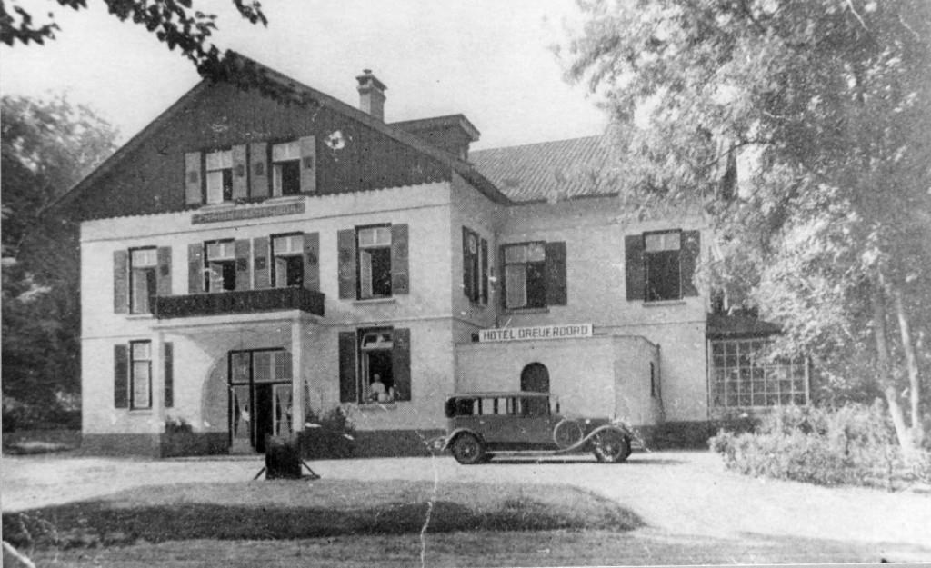 Hotel Dreijeroord rond 1930.