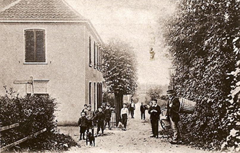 Bildersweg, hoek van Deldenpad in zuidelijke richting.