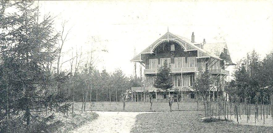 Het Zwitserse huis Reehorst, het woonhuis van Van Appeltern te Ede