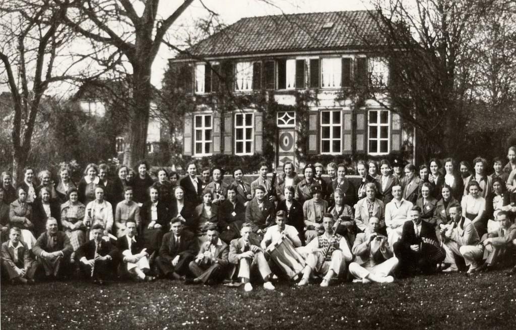 """De """"Meihof"""" ten tijde van de bewoning door het echtpaar Van der Ven."""