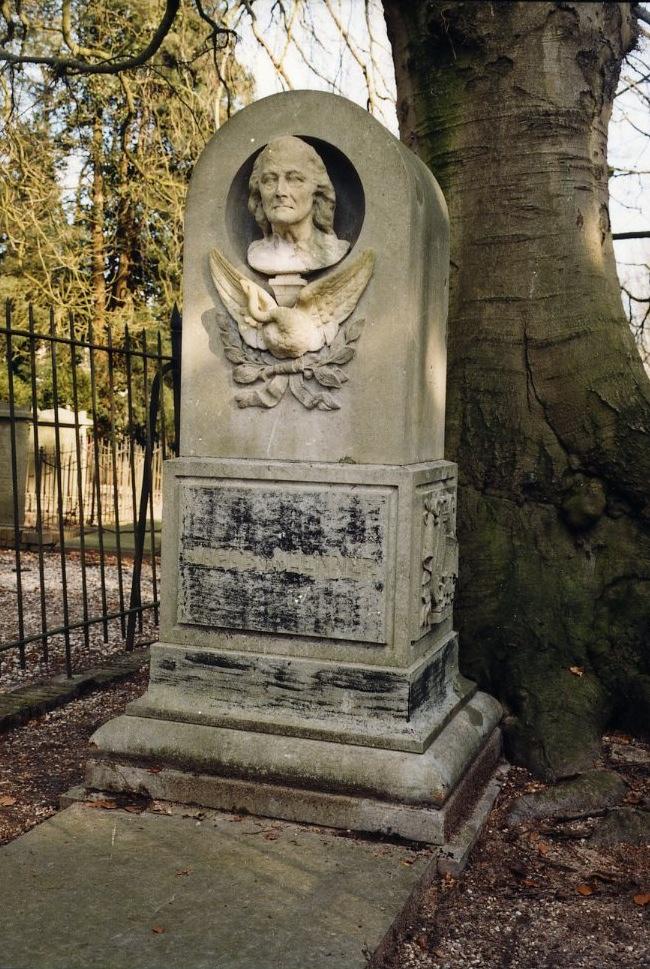 Grafmonument op het graf van Jacob van Lennep.