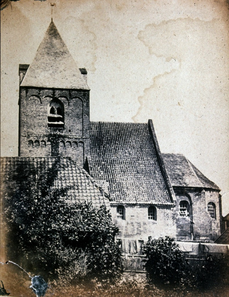 De eerste R.K. kerk van Renkum.
