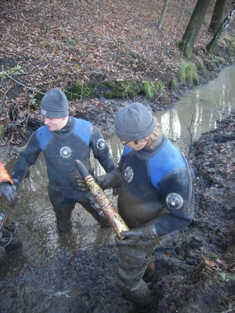 Engelse anti-tankgranaat gevonden aan de Fonteinallee