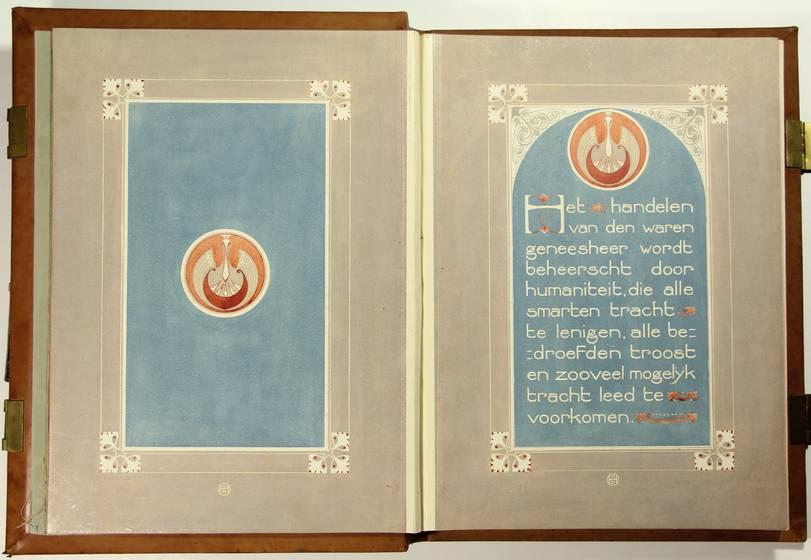 Het Liber Amicorum voor Donath.
