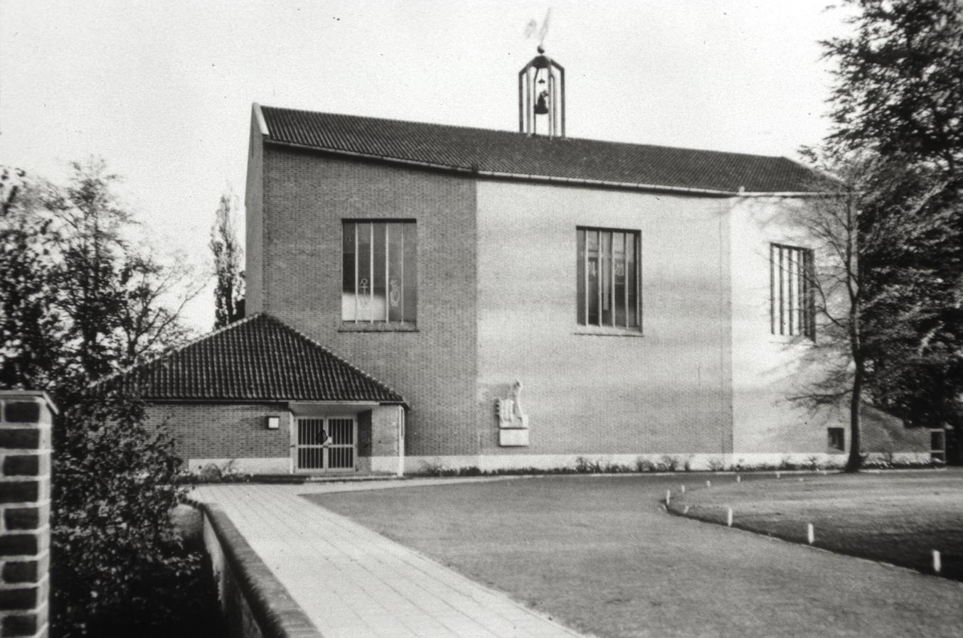 De goede herderkerk te oosterbeek en de architect frits adolf eschauzier heemkunde renkum - Hal ingang ontwerp ...