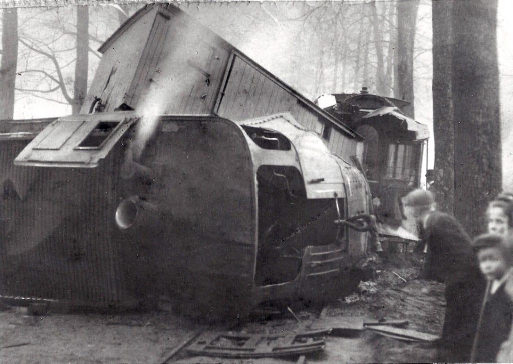 0897 ontspoorde tram Bokkedijk Renkum 1917