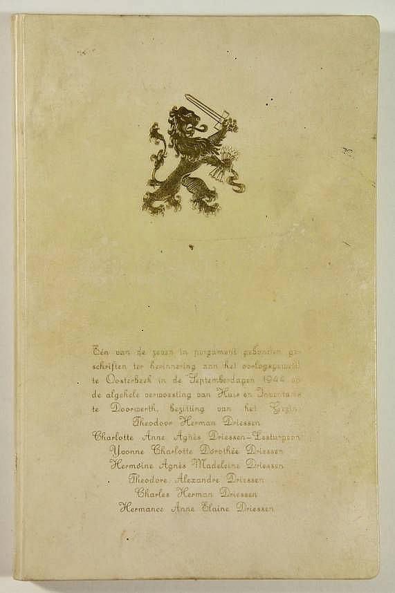 Het dagboek van de familie Driessen