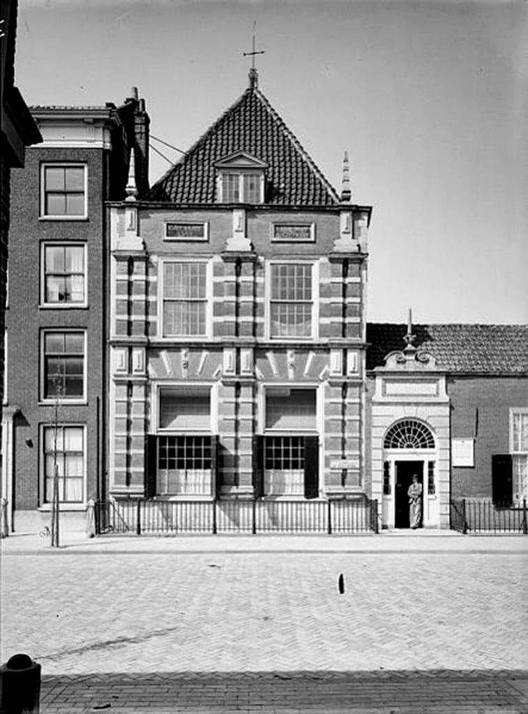 Ars Aemula Naturae, Pieterskerkgracht 9 Leiden collectie Rijksdienst voor het Cultureel Erfgoed