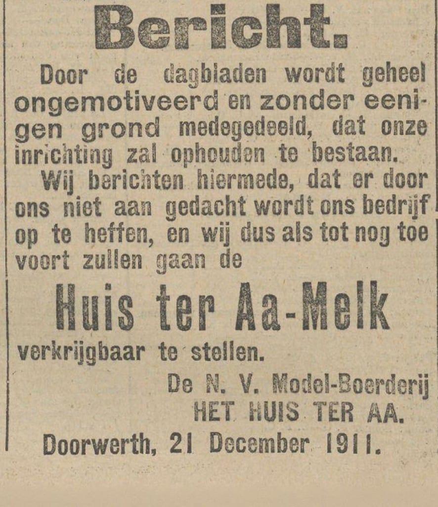 Nieuws van den Dag, 22 december 1911